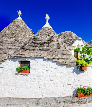 Traditional Trulli houses
